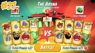 ANGRY BIRDS 2 THE ARENA – 7 LEVELS Gameplay Walkthrough Part 27