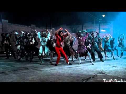 Michael Jackson Thriller Dance Music Loop - YouTube Michael Jackson Thriller Video Dance