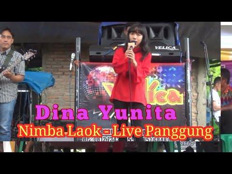 NIMBA LAOK Live bersama DINA YUNITA , putri dari bg JHONY ISKANDAR
