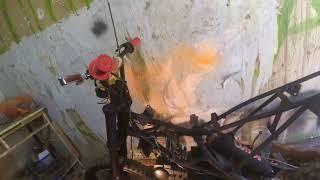 Питбайк (кайо) Kayo 125 за 3500 восстановление ремонт и тюнинг. / Видео