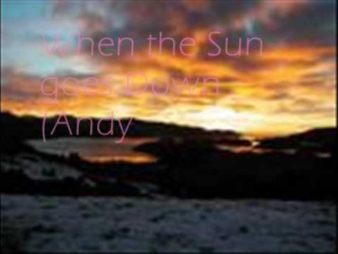 When the Sun goes Down (Andy C & AntMiles Orginal Unknown Mix)