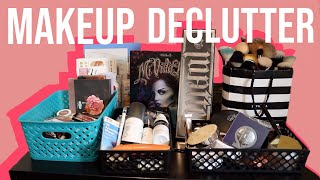 Declutter My Makeup Collection With Me!! Getting Rid of Old, Expired, & Unused Makeup!
