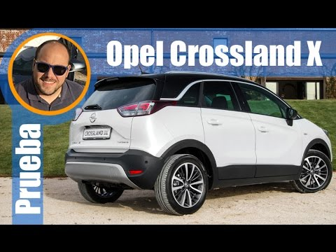 opel crossland x prueba presentaci n review en. Black Bedroom Furniture Sets. Home Design Ideas