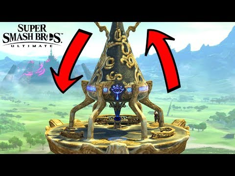 Super Smash Bros. Ultimate - Who Can Go Over Great Plateau Tower? thumbnail