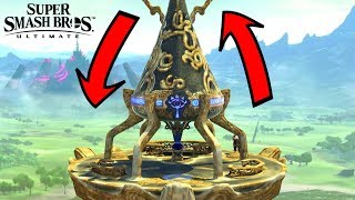 Super Smash Bros. Ultimate - Who Can Go Over Great Plateau Tower?