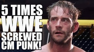 5 times wwe screwed cm punk after he quit