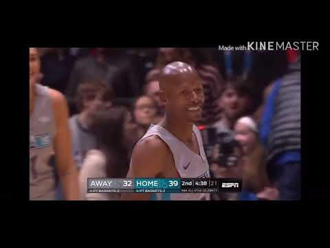 Ray Allen Proves He Still The Best Shooter To Play!  NBA Celebrity All-Star Game