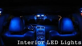 Interior LED replacements for 2003 Honda Civic LX How To
