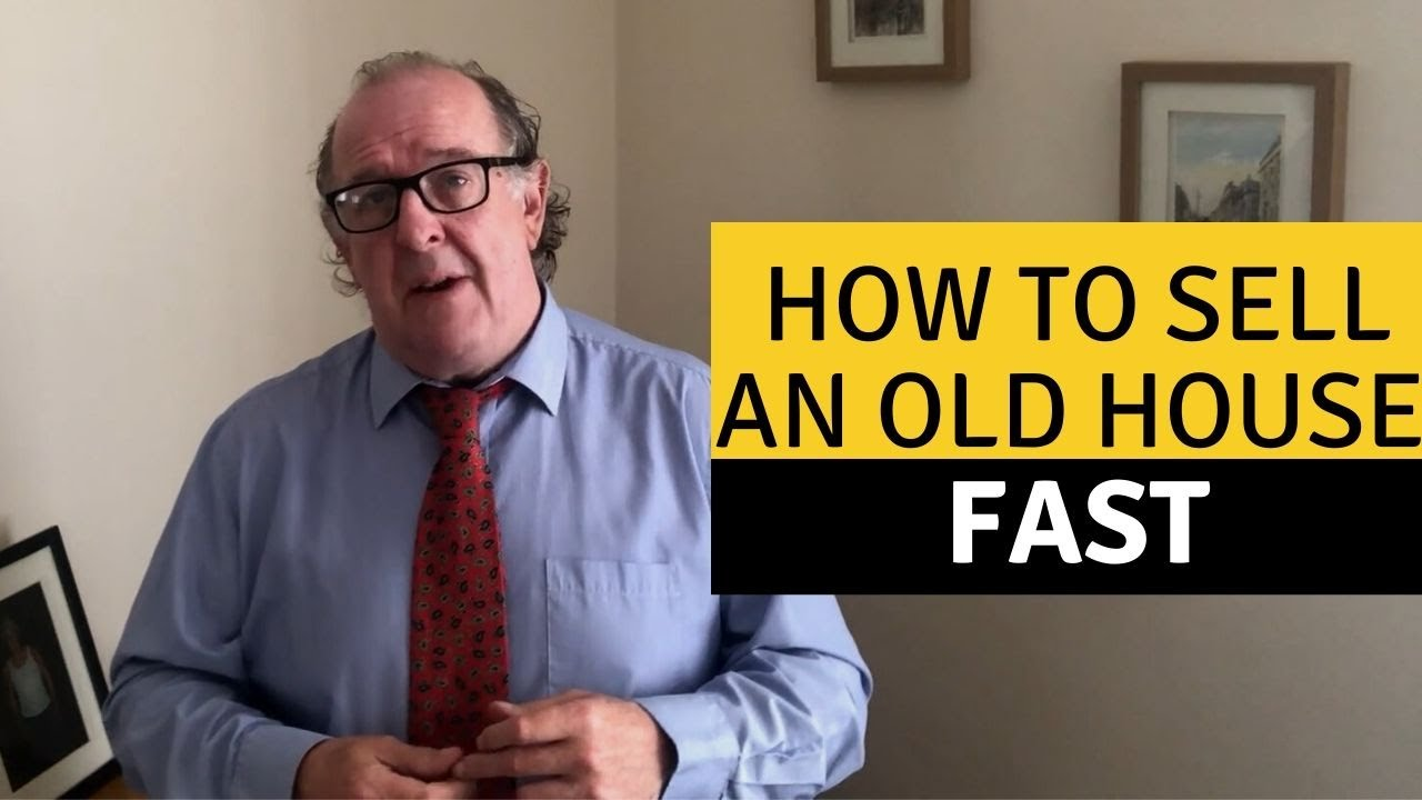 How to sell an old house fast