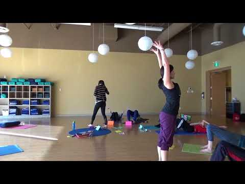 The Yoga class at elements in ottawa