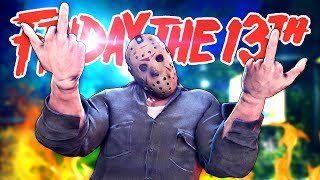 JASON GETS JUKED & WE ESCAPE! - Friday The 13th (Gameplay & Funny Moments)