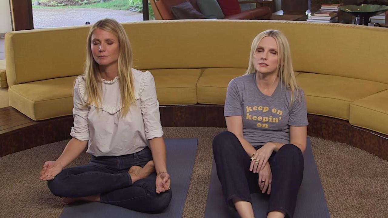 yoga Gwyneth paltrow