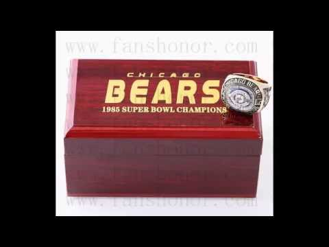 Custom NFL 1985 Super Bowl XX Chicago Bears Championship Ring