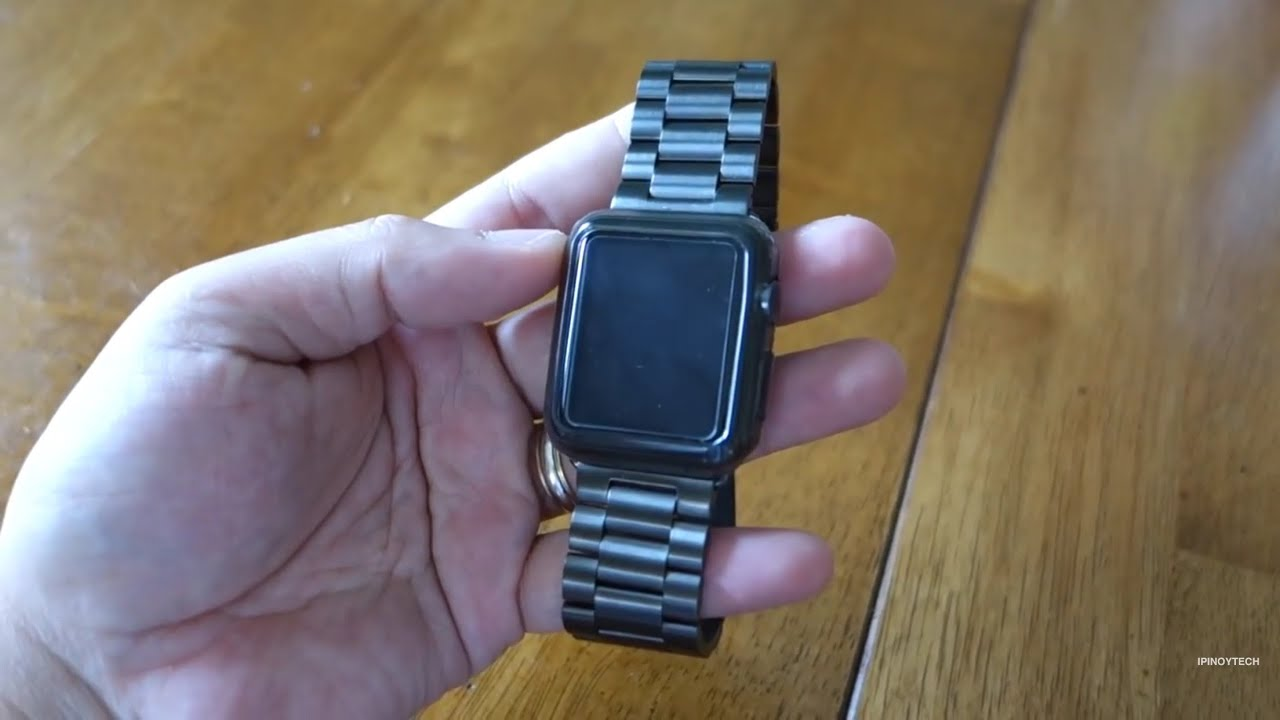 Hoco Stainless Steel Band For The Apple Watch Youtube