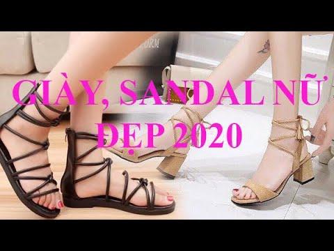 Giày sandal nữ đẹp năm 2020 I women's shoes trends 2020