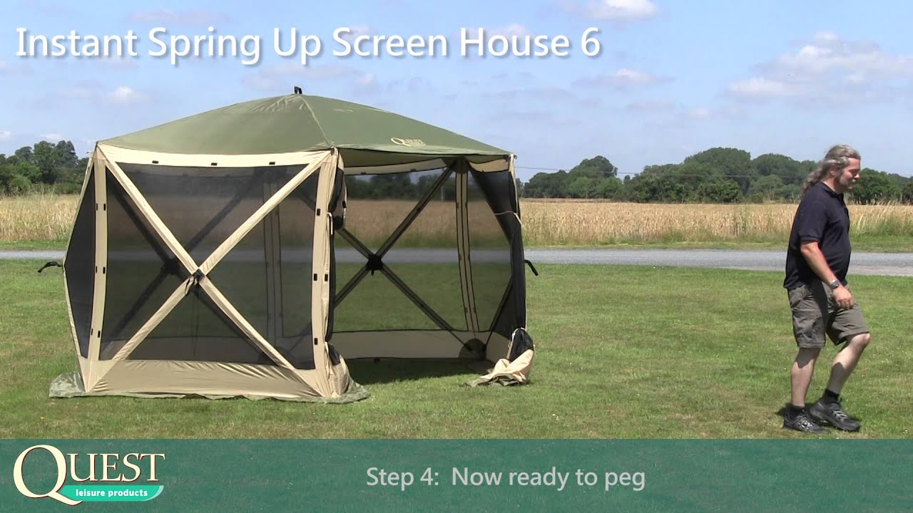 & Screen House 6 Full Instruction - YouTube
