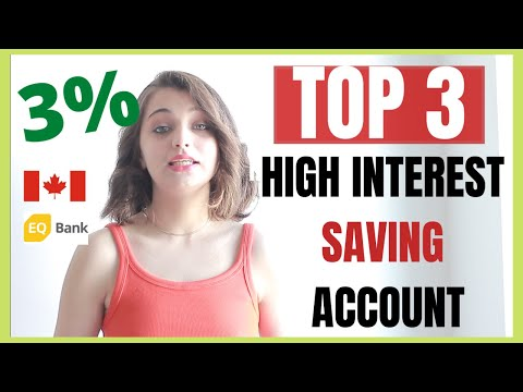 TOP 3 HIGH INTEREST SAVINGS ACCOUNT IN CANADA 2020 | 3 BANKS | HISA 2020