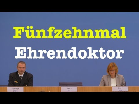 28. September 2018 - Bundespressekonferenz - RegPK