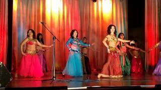 Восточный танец в Кызыле