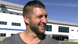 Tim Tebow Talks Wedding Day With Demi-Leigh Nel-Peters (Exclusive)
