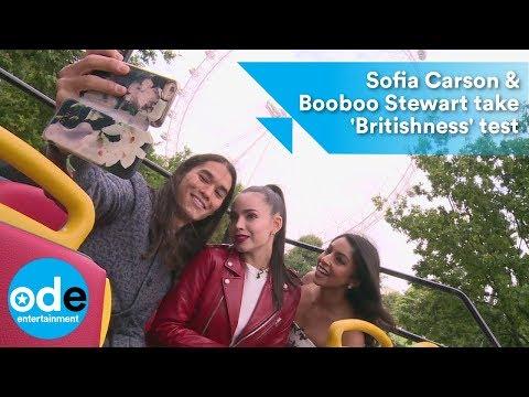 Descendants 2: Sofia Carson & Booboo Stewart take 'Britishness' test