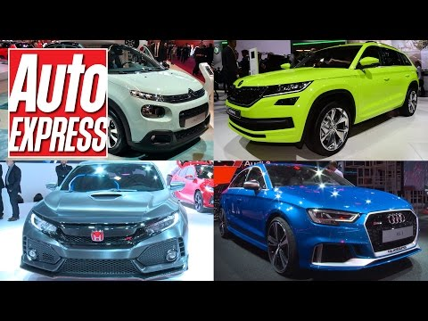 Best cars at the 2016 Paris Motor Show