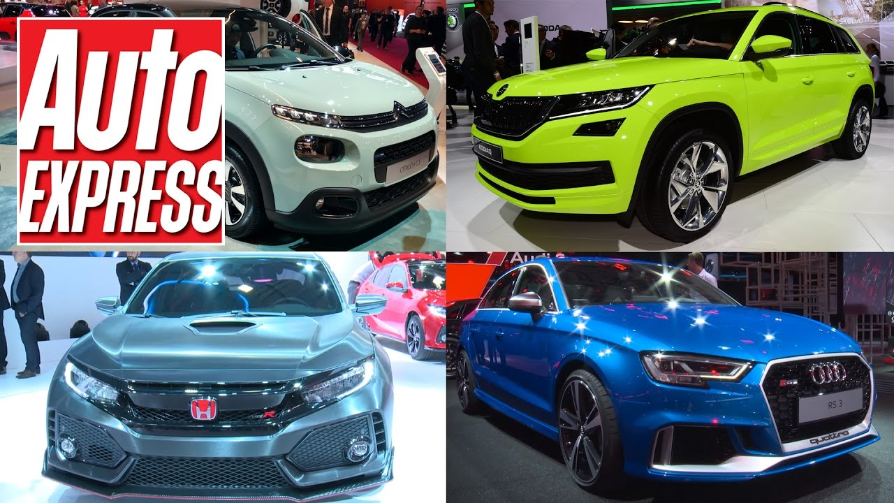 Best Cars At The 2016 Paris Motor Show