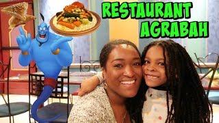 ON MANGE QUOI CHEZ ALADIN ? Restaurant AGRABAH Disneyland Paris