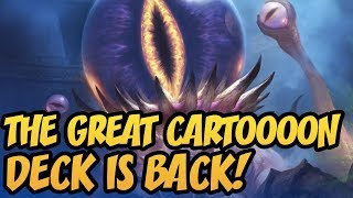 THE GREAT CARTOOOON DECK IS BACK! | Rastakhan's Rumble | Hearthstone