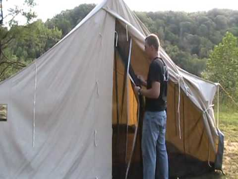 & Woods CA Industrial Strength Canvas Tent Review Woodsmonkey - YouTube