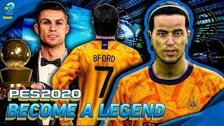 BEST PLAYER IN EUROPE! | PES 2020 Become A Legend w/Newcastle United! | Episode #2
