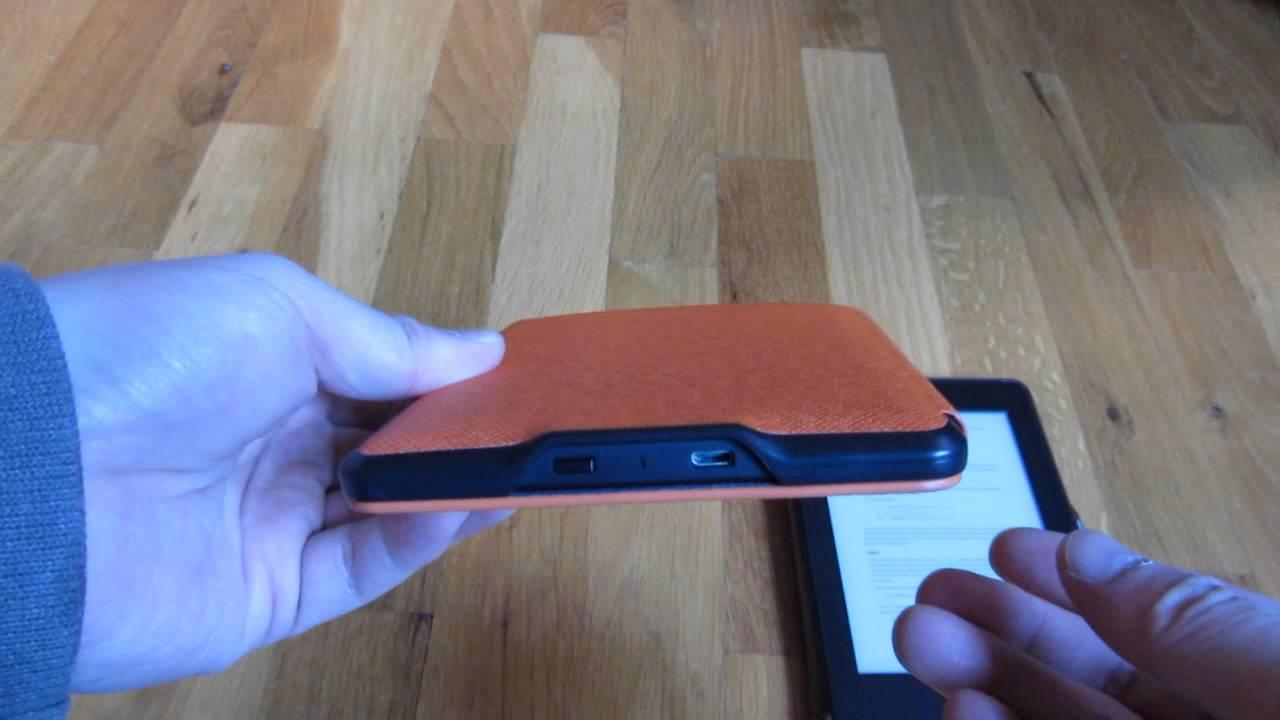 Kindle Paperwhite Leather Orange Case Review Comparison