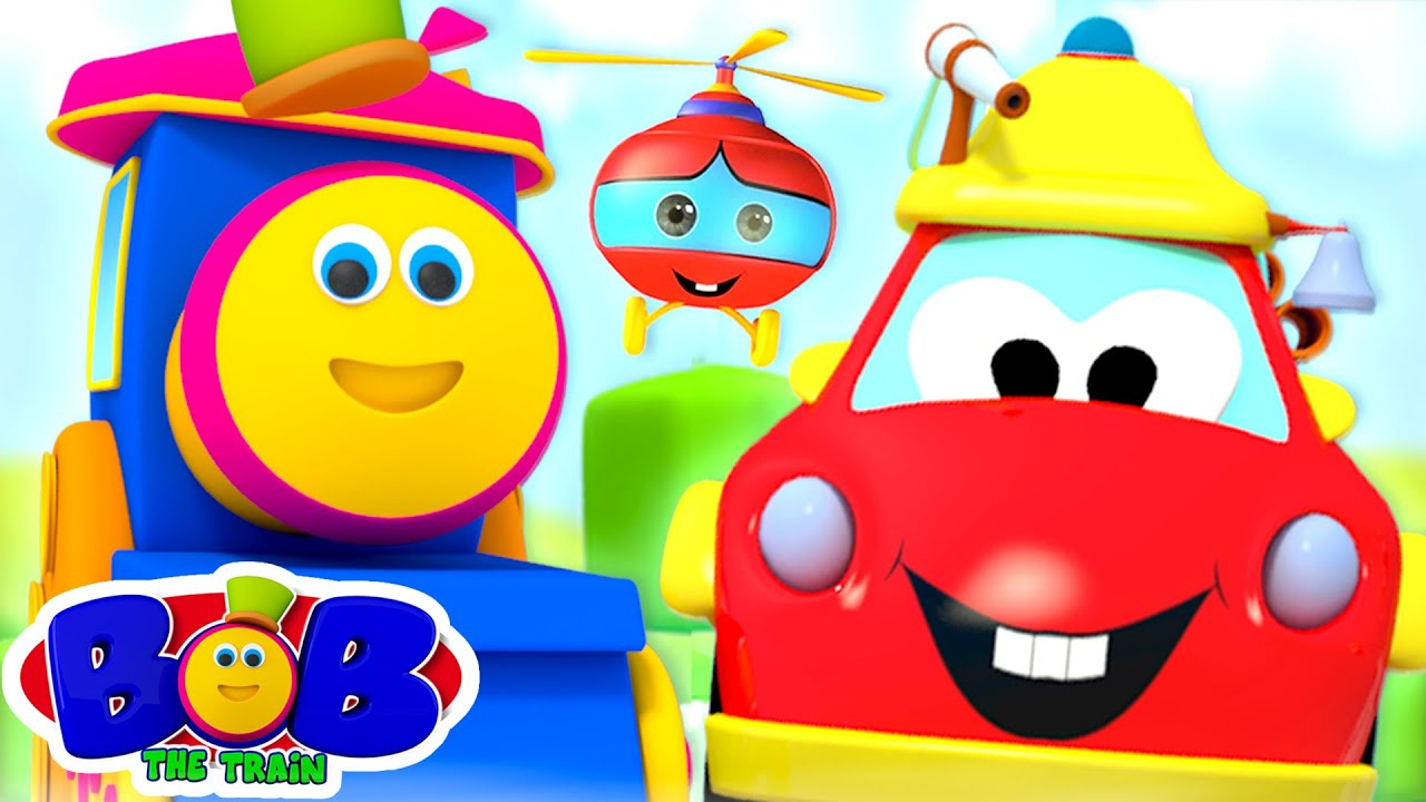 Transport Vehicles Song | Vehicles for Kids | Learning Video | Nursery Rhymes Songs - Bob The Train