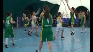 Баскетбол Областная Спартакиада учащихся-2013 Девушки Сергиевск-Ставрополь
