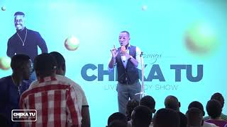 Cheka Tu (SO1EP11) MC Elly kwenye stage ya cheka tu