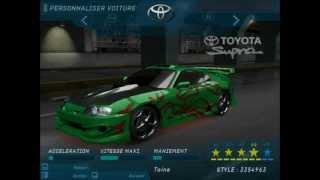 [Need For Speed Underground] Stan - Toyota Supra
