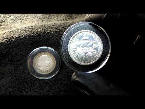1892 & 1893 World's Columbian Exposition Half Dollar Coins.