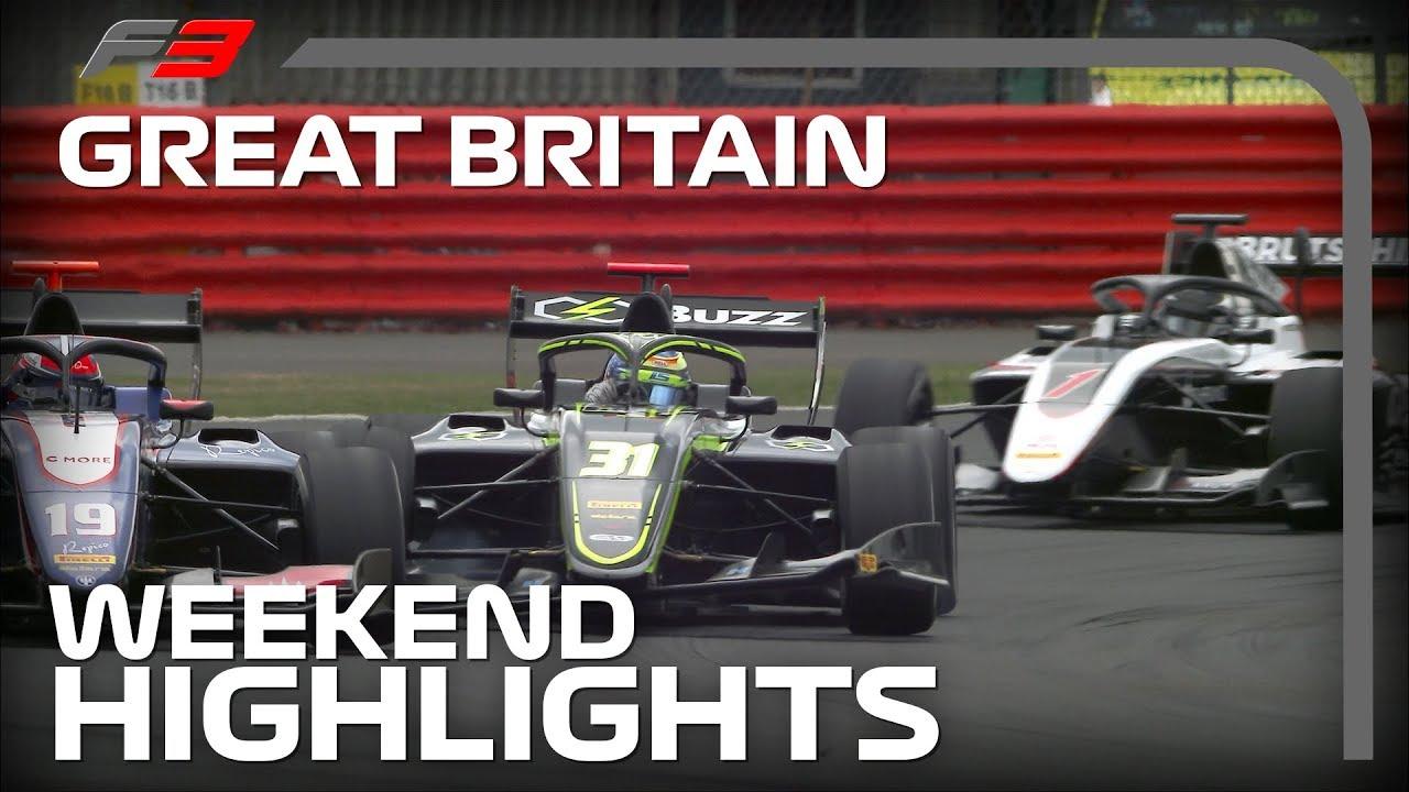 Formula 3 Round 4 Highlights | 2019 British Grand Prix