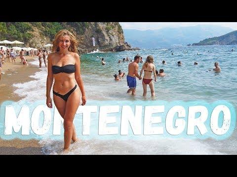 БЕССТЫЖИЕ ДЕВУШКИ. Горячий пляж в Черногории. Будва