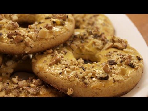 видео: Песочные кольца - рецепт из детства / shortcrust rings with nuts ♡ english subtitles