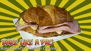 Breakfast Croissant Sandwich Recipe