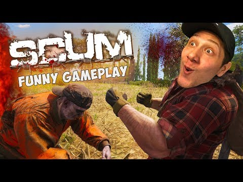 SCUM = FUNNIEST SURVIVAL GAME EVER | SCUM GAMEPLAY #1 (EARLY ACCESS)
