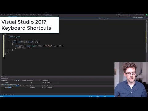 Visual Studio 2017 Keyboard Shortcuts (Part 2)