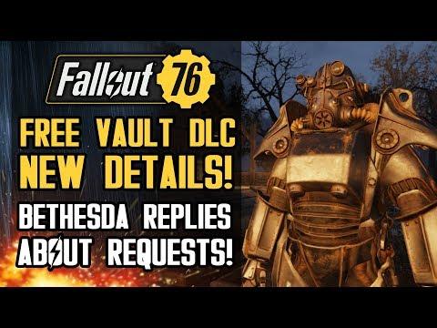 Fallout 76 - NEW FREE Vault DLC Details!  GECK Terraforming, Strangler Enemies! Bethesda Responds! thumbnail