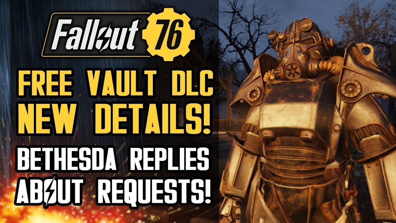 Fallout 76 - NEW FREE Vault DLC Details! GECK Terraforming