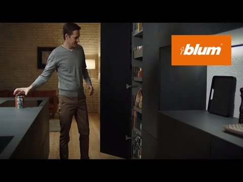 SPACE TOWER - The ultimate cabinet solution for larder units | Blum