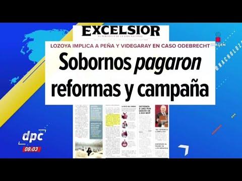 Encabezados: Sobornos pagaron reformas y campaña