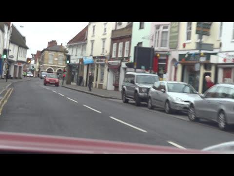 Drive through Ware, Hertfordshire