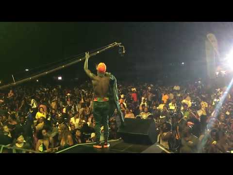 Fik Fameica Performing Live at Wizkid Live in Kampala