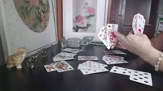 Гадание на Крестовую( Трефовую)♣️Даму на игральных картах.Цыганский расклад на ближайшее будущее.